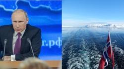 Mistyfikacje wojenne Rosji u wybrzeży Norwegii - miniaturka
