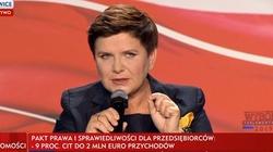 Beata Szydło: Wiara czyni cuda. Udało nam się coś niesamowitego - miniaturka