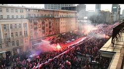 Prowokacje Obywateli RP na Marszu Niepodległości. Profanacja flagi, zamieszki - miniaturka
