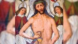 Cudowny obraz Jezusa Pięciorańskiego - wypraszania łask krynica - miniaturka