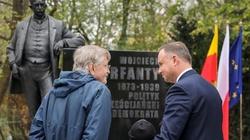 Prezydent Andrzej Duda odsłonił pomnik Wojciecha Korfantego - miniaturka
