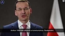 Mateusz Morawiecki składa życzenia na Dzień Przyjaźni Polsko-Węgierskiej - miniaturka