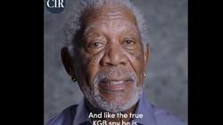 Morgan Freeman na celowniku Kremla za prawdę o rosyjskiej wojnie informacyjnej - miniaturka