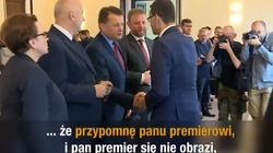 Bo polonistą się jest, a nie bywa! Minister Zalewska upomina premiera - miniaturka