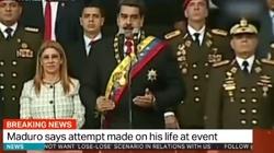 Zamach na prezydenta Wenezueli. Maduro: Stoi za tym Kolumbia, źródło finansowania w USA - miniaturka