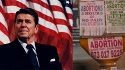 Ronald Reagan- aborcja a sumienie narodu - miniaturka
