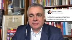 Rosyjskie fake newsy na Twitterze T. Sakiewicza  - miniaturka