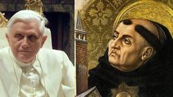 Benedykt XVI: W epoce błędów studiujcie św. Tomasza  - miniaturka