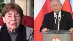 Zofia Romaszewska broni Kaczyńskiego: Podziwiam jego wytrzymałość - miniaturka