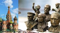 Twarze Putina i Stalina na mozaikach w głównej cerkwi rosyjskiej armii - miniaturka