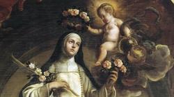 Św. Róża z Limy, młoda ascetka - miniaturka