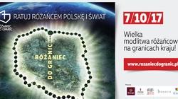 Cała Polska opleciona żywym różańcem! Ponad milion uczestników akcji 'Różaniec do Granic' - miniaturka