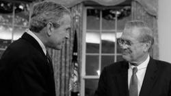 Zmarł Donald Rumsfeld - b. sekretarz obrony USA, odpowiedzialny m. in. za inwazję na Irak - miniaturka