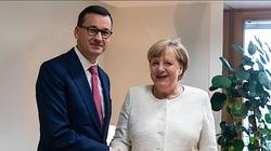 Premier Morawiecki spotkał się z Angelą Merkel. O czym rozmawiali? - miniaturka