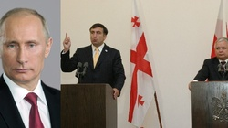 Saakaszwili: Putin zdecydował się skończyć z Kaczyńskim - miniaturka
