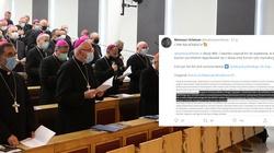 ,,Cyrk na kółkach''. Biskupi ocenzurowali własny list… - miniaturka