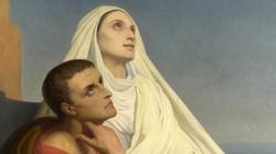 Śmierć św. Moniki matki św. Augustyna. - miniaturka