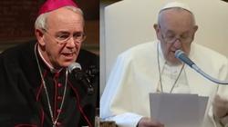 Bp Schneider apeluje: Módlmy się o nawrócenie papieża  - miniaturka
