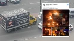 Szokujące! W Warszawie podpalono furgonetkę Fundacji Pro – Prawo do Życia  - miniaturka