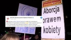 Kasta basta! Sędziowie wspierają nielegalne manifestacje - miniaturka