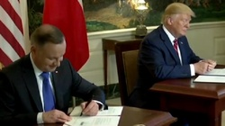 Prezydent Andrzej Duda w Waszyngtonie. Jest wspólna deklaracja! - miniaturka