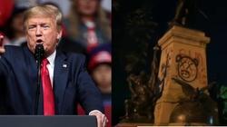 Donald Trump: Aresztujemy każdego, kto niszczy pomniki - miniaturka