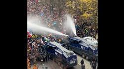 Tak niemiecka policja pacyfikuje protesty w Berlinie. Gdzie wołania o ,,praworządność''?  - miniaturka