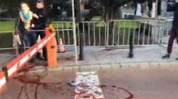 [Wideo] Obywatele RP wtargnęli na teren Sejmu. Rozlali czerwoną farbę - miniaturka