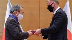Andrzej Duda w Tokio. Prezydent odznaczył prezesa Toyoty  - miniaturka