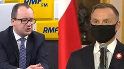Estoński dziennikarz pyta o Bodnara. Prezydent: Nigdy nie powinien być RPO - miniaturka