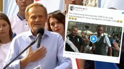 Ależ Onet zepsuł Tuskowi wiec! Prawdziwy HIT ze spotkania w Gdańsku  - miniaturka
