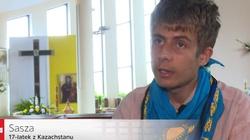 PORUSZAJĄCE! Sasza z Kazachstanu: Zbierałem złom, żeby przyjechać na Światowe Dni Młodzieży - miniaturka