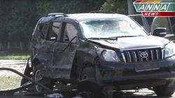 Ostrzelano samochód przywódcy separatystów WIDEO - miniaturka