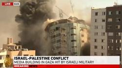 [Wideo] Izrael zrównał z ziemią siedzibę mediów zagranicznych w Strefie Gazy - miniaturka