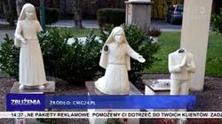 Dewastacje kościołów się nie kończą. Zniszczono figury dzieci fatimskich - miniaturka
