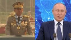 Szef birmańskiej junty w Rosji - miniaturka