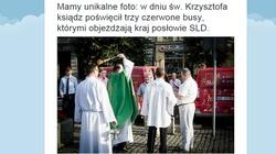 Unikalne foto! SLD świętuje dzień św. Krzysztofa - miniaturka