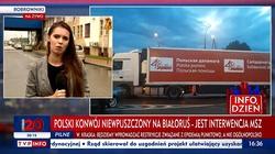 """Kierowca konwoju humanitarnego """"Solidarności"""" aresztowany i skuty przez białoruskie KGB - miniaturka"""