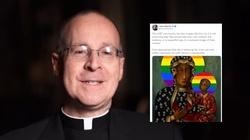 Amerykański jezuita broni polskich aktywistów. Chodzi o ,,tęczową'' Matkę Bożą - miniaturka