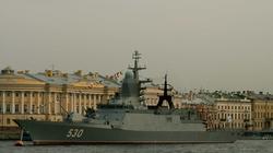 Okręty wojenne Rosji w wyłącznej strefie ekonomicznej Łotwy - miniaturka
