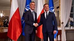 NATO, Covid-19 i wojska amerykańskie w Polsce. Główne tematy rozmów prezydenta Dudy z sekretarzem generalnym NATO Stoltenbergiem  - miniaturka