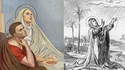 Piękny życiorys św. Moniki - miniaturka