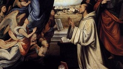 Święty Bernard oddał się całkowicie Matce Bożej - miniaturka