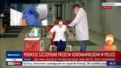 Zaszczepiono pierwszą osobę w Polsce - miniaturka