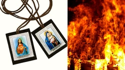 Wielka Obietnica Szkaplerza: Nie zaznasz ognia piekielnego - miniaturka