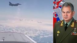 Polskie F-16 przechwyciły samolot z szefem MON Rosji - miniaturka
