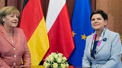 Szydło i Merkel o lepszej współpracy gospodarczej Polski i Niemiec - miniaturka