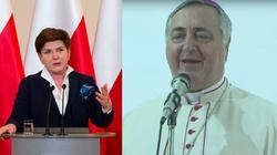 Premier Szydło spotka się dziś z nuncjuszem apostolskim - miniaturka