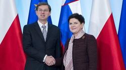 Premier Beata Szydło gościła premiera Słowenii - miniaturka
