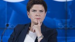 Beata Szydło: Andrzej Duda przyszedł na debatę, Trzaskowski zorganizował konferencję prasową - miniaturka